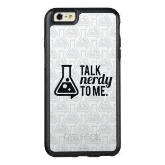 Gespräch Nerdy OtterBox iPhone 6/6s Plus Hülle