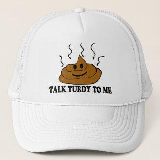 Gespräch Turdy zu mir Truckerkappe