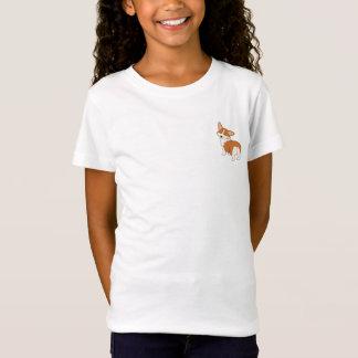 Gespräch zum Schwanz-CartoonCorgi T-Shirt