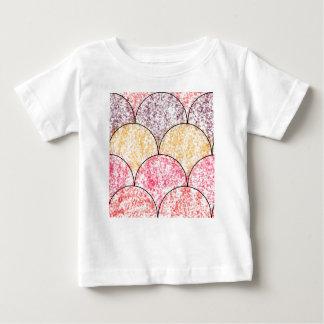 Gesprenkelte Meerjungfrau-Skalen Baby T-shirt