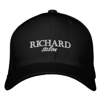 Gestickte angepasste Kappe Richard Salon Bestickte Kappe
