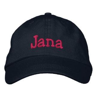 Gestickte Baseballmütze Janas Name Bestickte Baseballkappe