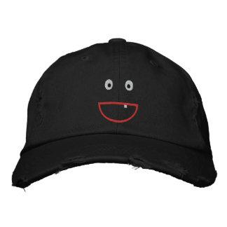 Gestickte beunruhigte lächelnde Kappe Baseballkappe