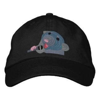Gestickte Gesang-Ratten-Kappe Besticktes Baseballcap