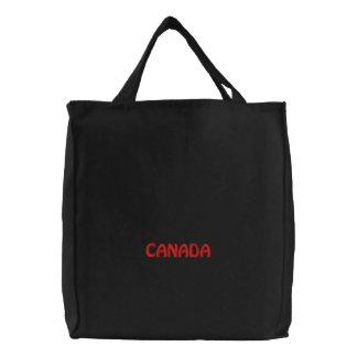 Gestickte KANADA-Taschen-Tasche Bestickte Tragetasche