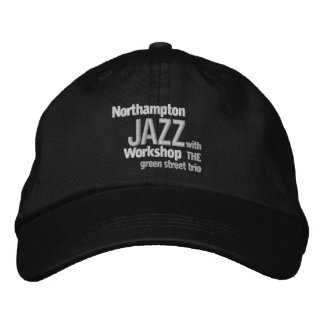 Gestickte Northampton-Jazz-Werkstatt-Kappe Bestickte Kappe