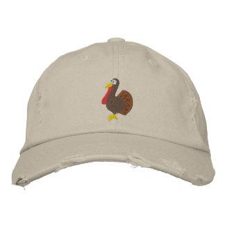 Gestickter die Türkei-Hut Baseballcap