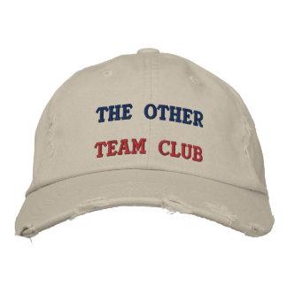 Gestickter Hut anderer Team-Verein Baseballkappe