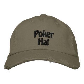 Gestickter Hut Baseballmütze Pokers Hut