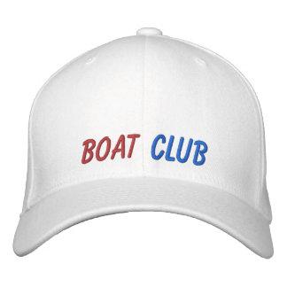 Gestickter Hut-Boots-Verein Baseballkappe