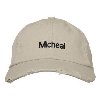 Gestickter Hut-Micheal-Name Bestickte Baseballmützen