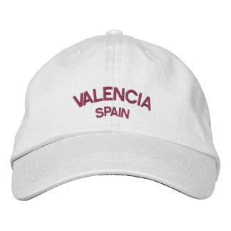 Gestickter Hut Valencias Spanien