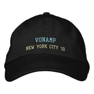 Gestickter Hut - VonAmp in NYC Baseballkappe