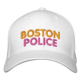 Gestickter lustiger Hut Bostons Polizei Bestickte Caps