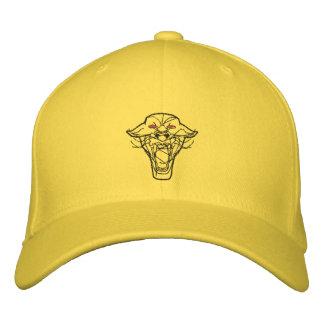 Gestickter Panther-Hut Bestickte Mütze