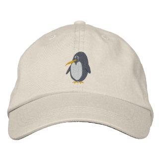 Gestickter Pinguin-Hut Bestickte Kappe