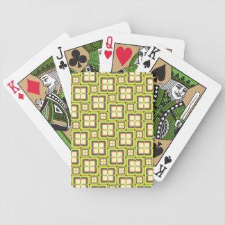 Geteilte Quadrat-Spielkarten Pokerkarten
