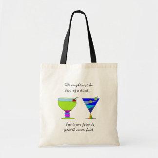 Getränke des wahre Freund-Sprichwort-n Tragetasche
