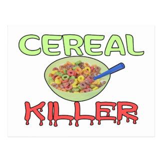 Getreide-Mörder Postkarte
