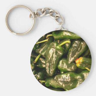 Getrocknete Jalapeno-Paprikaschoten Schlüsselanhänger