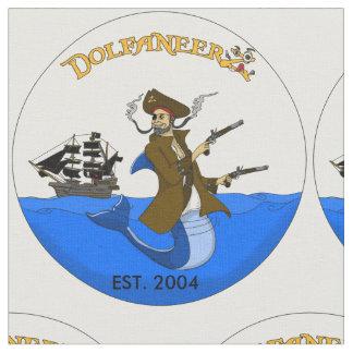 Gewebe mit MTFL kundenspezifischem DolfaneerZ Logo Stoff