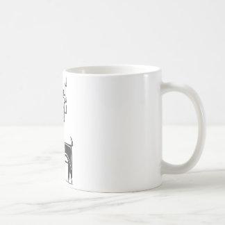 Geweih-Ren Tasse