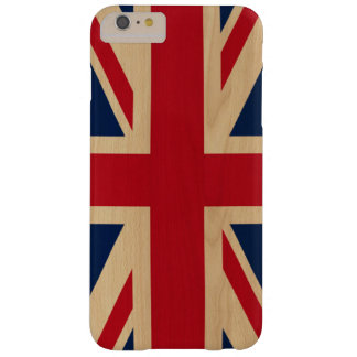 Gewerkschafts-Jack-britische nationale Flagge Barely There iPhone 6 Plus Hülle