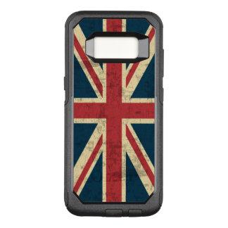 Gewerkschafts-Jack-Vintage britische Flagge OtterBox Commuter Samsung Galaxy S8 Hülle