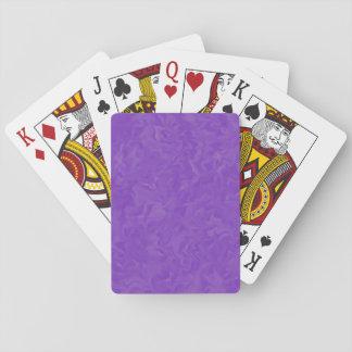 Gewirbelte Schatten von Lila Spielkarte