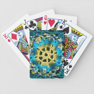 Gewirkt Spielkarten