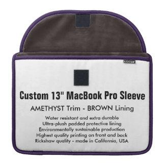 """Gewohnheit 13"""" MacBook Pro-Hülse - Amethyst u. Sleeve Für MacBook Pro"""