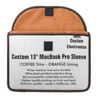 "Gewohnheit 13"" MacBook Pro-Hülse - Kaffee u. Sleeve Für MacBooks"