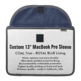 """Gewohnheit 13"""" MacBook Pro-Hülse - Kohle u. Sleeve Für MacBooks"""