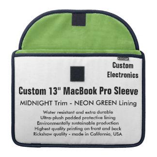 "Gewohnheit 13"" MacBook Pro-Hülse - Mitternacht u. MacBook Pro Sleeves"