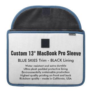 """Gewohnheit 13"""" MacBook Pro-Hülsen-blaue Himmel u. Sleeve Für MacBook Pro"""