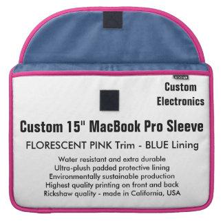"Gewohnheit 15"" MacBook Pro-Hülse - Rosa u. Sleeve Für MacBooks"