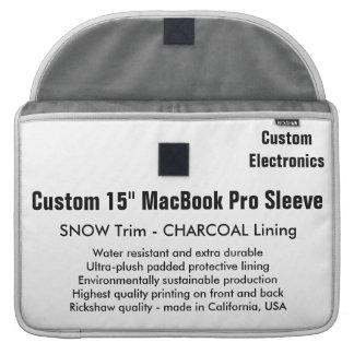 """Gewohnheit 15"""" MacBook Pro-Hülse - Schnee u. Sleeve Für MacBooks"""