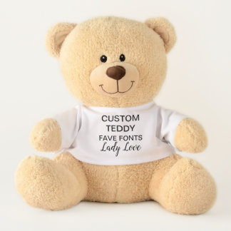 """Gewohnheit 17"""" Teddy-Bärn-Spielzeug-Schablone DAME Teddy"""