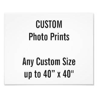 Gewohnheit 30 x 24 cm-Foto-Druck-BRITISCHE Fotodruck