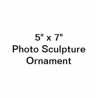 """Gewohnheit 5"""" x 7"""" Foto-Skulptur-Verzierung Fotoskulptur Ornament"""