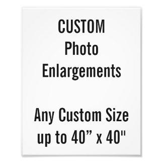 """Gewohnheit 8"""" x10"""" Foto-Erweiterung bis zu 40"""" x40 Photographie"""