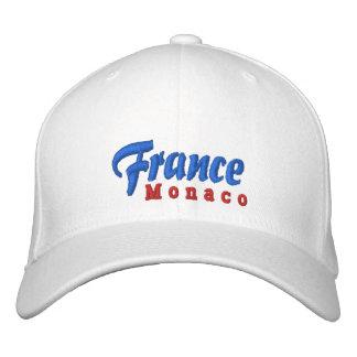 Gewohnheits-Hut Frankreichs, Monaco Bestickte Baseballkappe