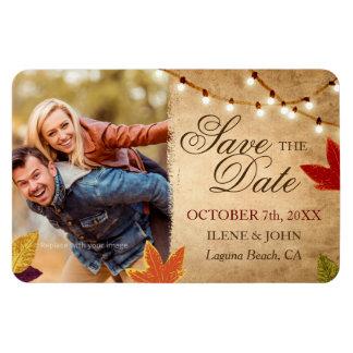Gewohnheits-Save the Date Magnet-Hochzeit im Magnet