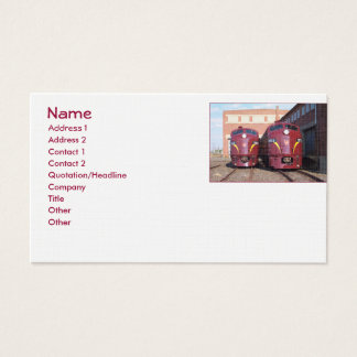 Gewohnheits-Visitenkarten Visitenkarten