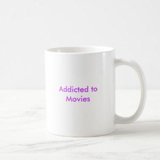Gewöhnt zu den Filmen Tasse