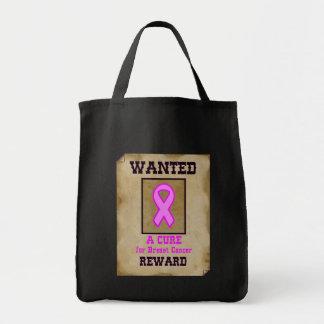 Gewollt: Eine Heilung für Brustkrebs Tragetasche