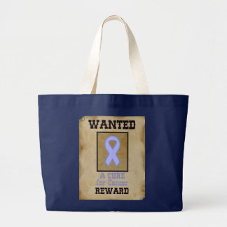 Gewollt: Eine Heilung für Krebs - Lavendel-Band Jumbo Stoffbeutel