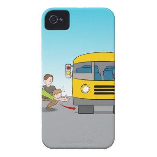 Geworfen unter Bus iPhone 4 Case-Mate Hülle