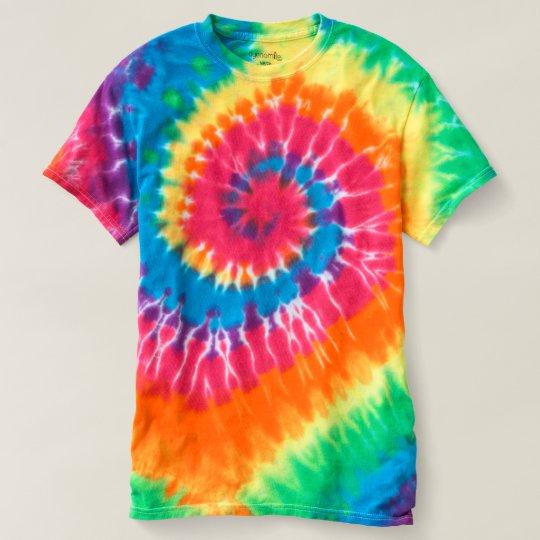 Spiral Batik-Shirt für Frauen