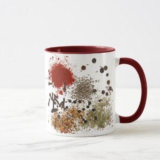 Gewürz der Leben-Keramik-Tasse Tasse